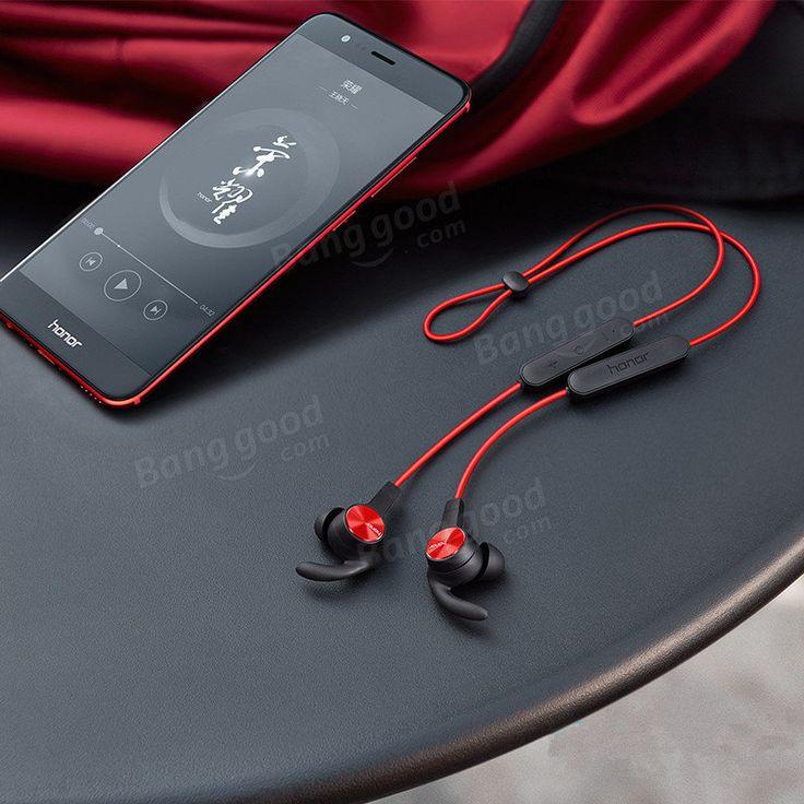 Huawei Honor xSport AM61 Wireless Bluetooth Headset Magnetic Absorption 137mAh IPX5 Waterproof Headphone Sale - Banggood.com