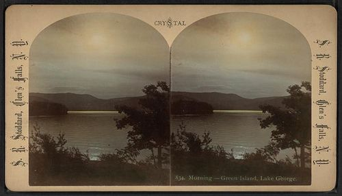 https://flic.kr/p/75FQWW | Morning - Green Island, Lake George. | Digital ID: G91F121_097ZF. Stoddard, Seneca Ray -- Photographer. [1870?-1885?]   Source: Robert N. Dennis collection of stereoscopic views.  / United States. / States / New York / Stereoscopic views of Lake George  (more info)   Repository: The New York Public Library. Photography Collection, Miriam and Ira D. Wallach Division of Art, Prints and Photographs.   See more information about this image and others at NYPL Digital…
