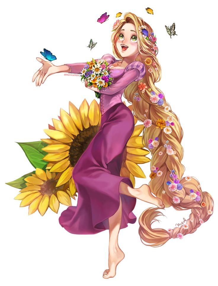 Rapunzel from Disney's Tangled! @mameal369