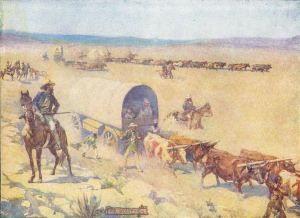 Voortrekkers: The victories at Vegkop and Mosega had a galvanizing effect on the Boers wavering in the Cape. Soon, thousands (eventually 12,000) had packed their wagons and were trekking north. The victories also had the effect of not only to populate vacant land but of forming their own state and subjugating any of the current inhabitants.