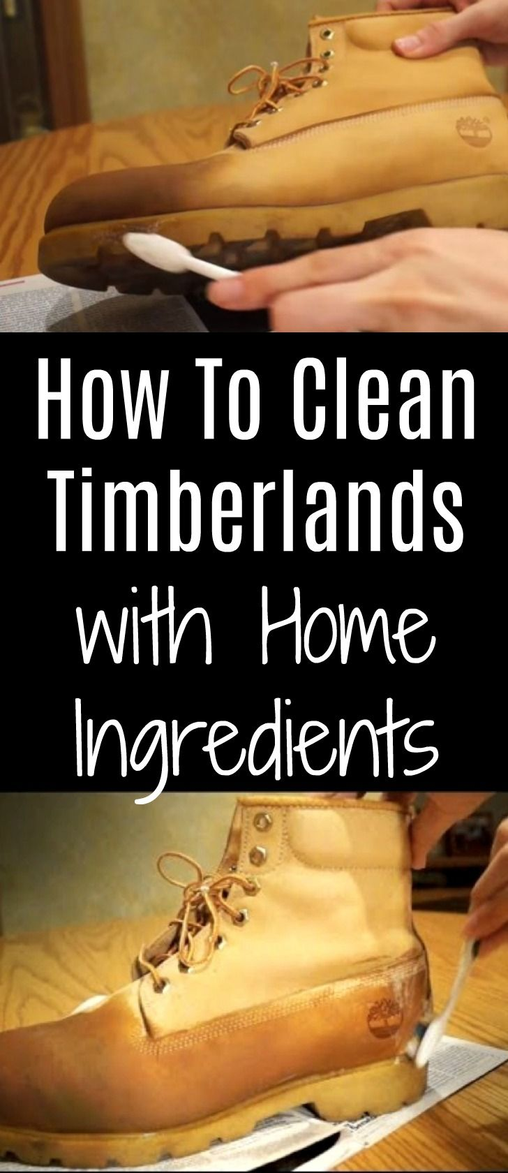 hot sale online cheaper factory outlets How To Clean Timberlands With Home Ingredients | How to ...
