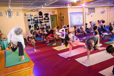 Sri Dharma Mittra teaching at the #Dharma oga New York Center