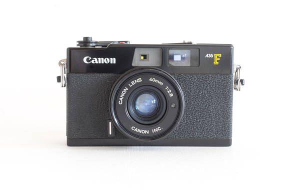 Vintage Canon A35F 35mm Camera w/ Strap