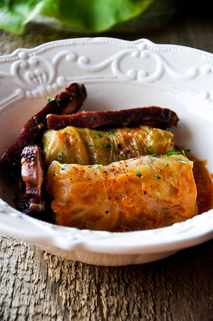 Serbian Sarma wrapped in sweet cabbage, yummy!!! You can also make Sarma wrapped in grape leafs