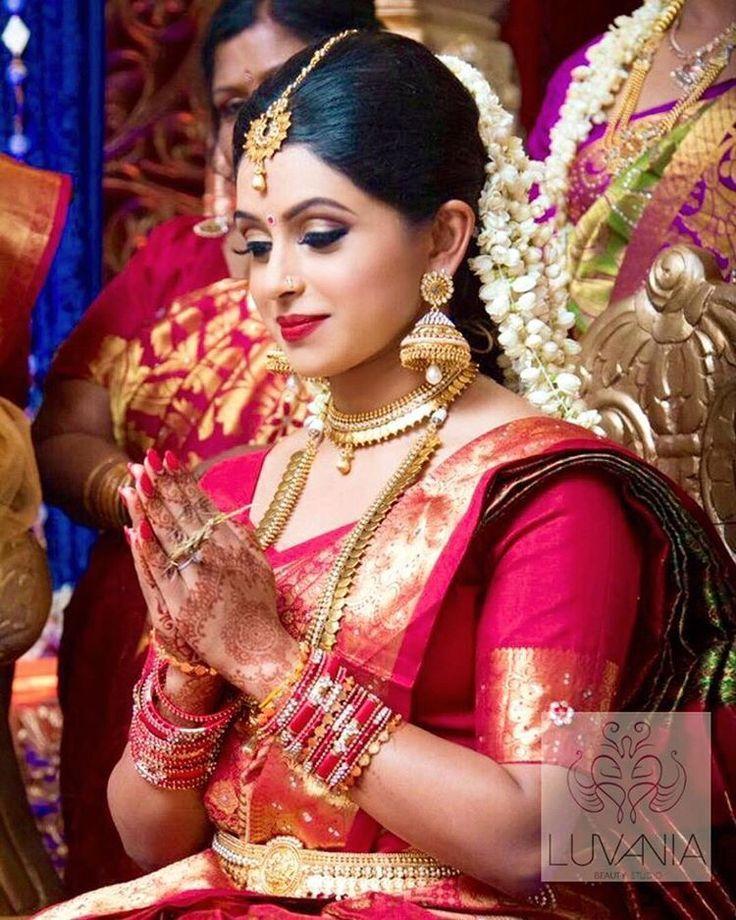 Kerala Wedding Bridal Images: 66 Best Kerala Wedding Saree Images On Pinterest