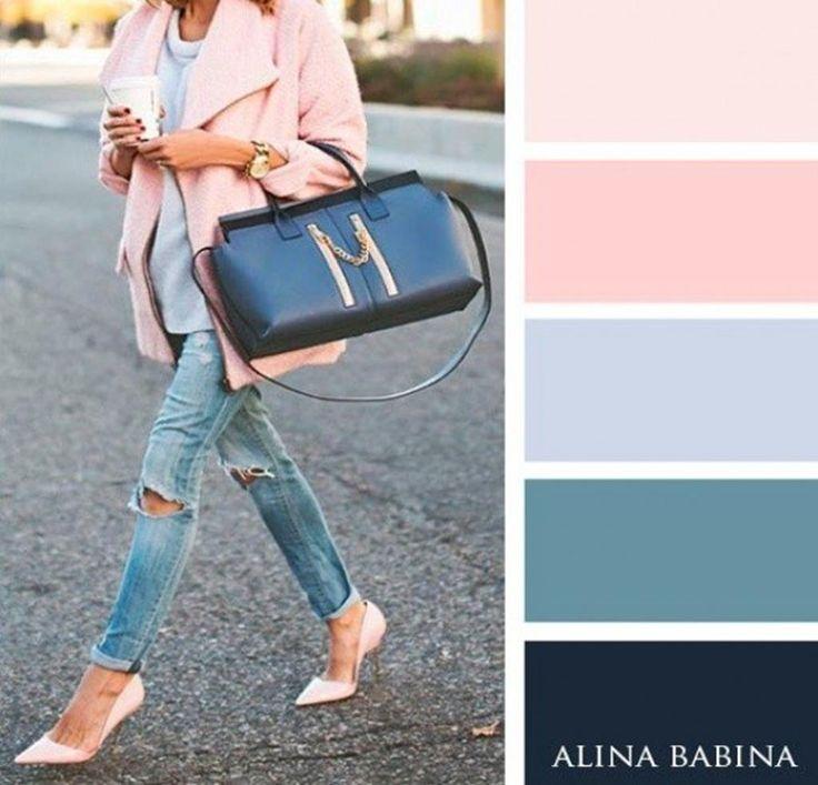 19 combinaisons de couleurs pour pouvoir composer LA tenue parfaite                                                                                                                                                                                 Plus
