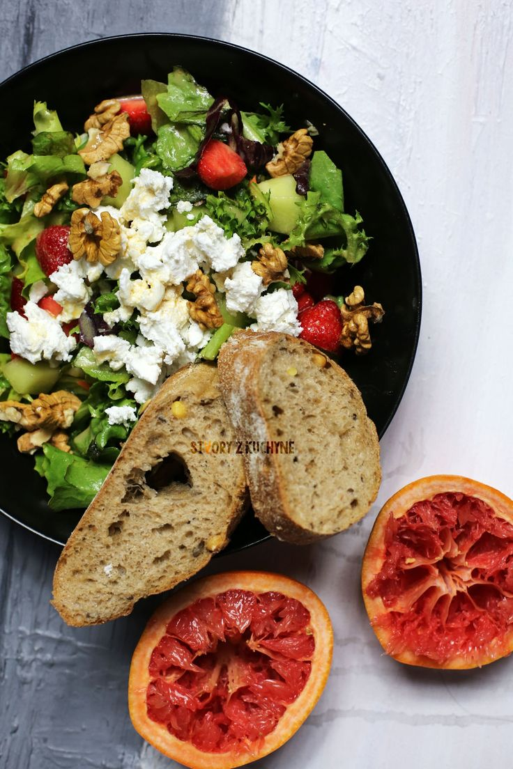 Svieži Ovocno-Zeleninový Šalát