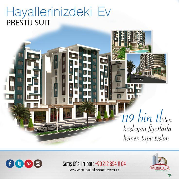 Hayallerinizdeki ev, Prestij Suit! #inşaat #ev #home #konut