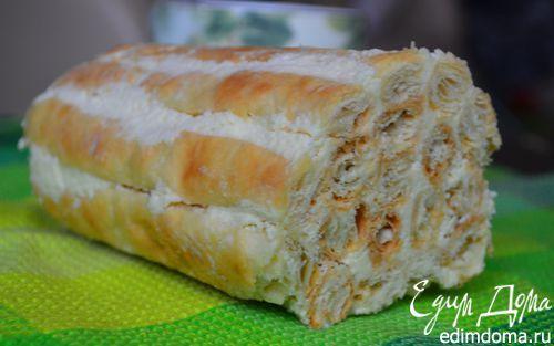 Слоеное полено со сгущенкой   Кулинарные рецепты от «Едим дома!»