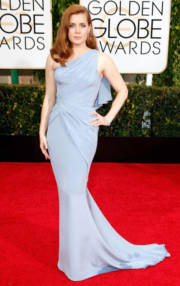 Golden Globes 2015 Amy Adams in Versace   blog.theknot.com