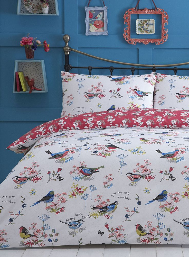 Columbia Birdy Bedding Set, £17.50