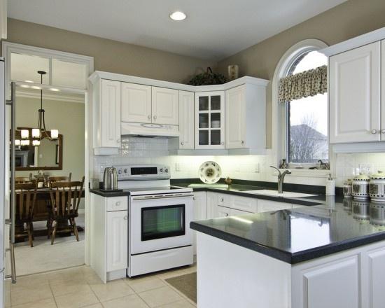 Kitchen white appliances walnut street mini kitchen pinterest - White kitchen with white appliances ...