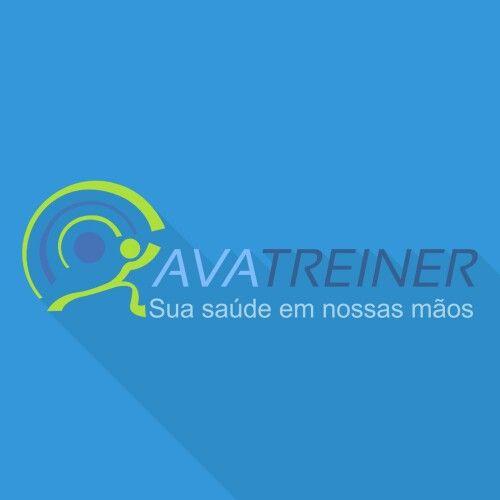 Logotipo criado para um educador fisico que faz circuitos na praia