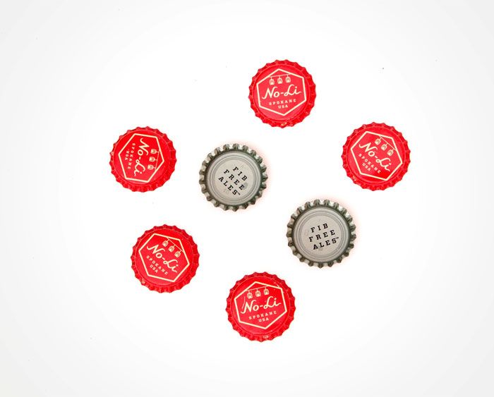 9-7-12_noli3.jpg: No Li Brewhouse, Head Of Garlic, Bottle Cap, Brewhouse Cap, Packaging Design, Graphics Design, Noli Brewhouse, Beer Labels, Riley Cran