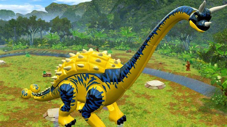 Мир Юрского Периода.Новый Вид Динозавра.Игры и Мультики про Динозавров.J...