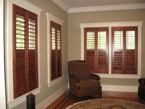 Wood With White Trim Design Pictures Remodel Decor And