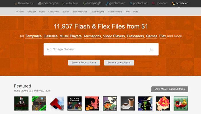 หาเงินออนไลน์กับActiveden เป็นช่องทางการโชว์ผลงานสำหรับ Flash Developer ทั่วโลกที่ต่างก็มาที่ Marketplace ของ Envato แห่งนี้เพื่อแสดงผลงาน Flash ของตัวเอง #activeden
