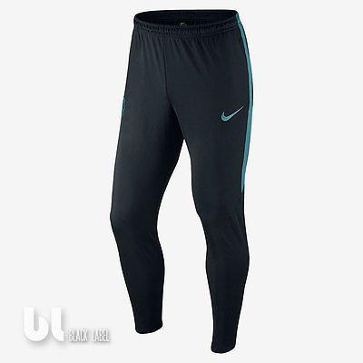 Nike Fc Barcelona Fussball Sport Hose Herren Barca Trainingshose Fussballhose  S