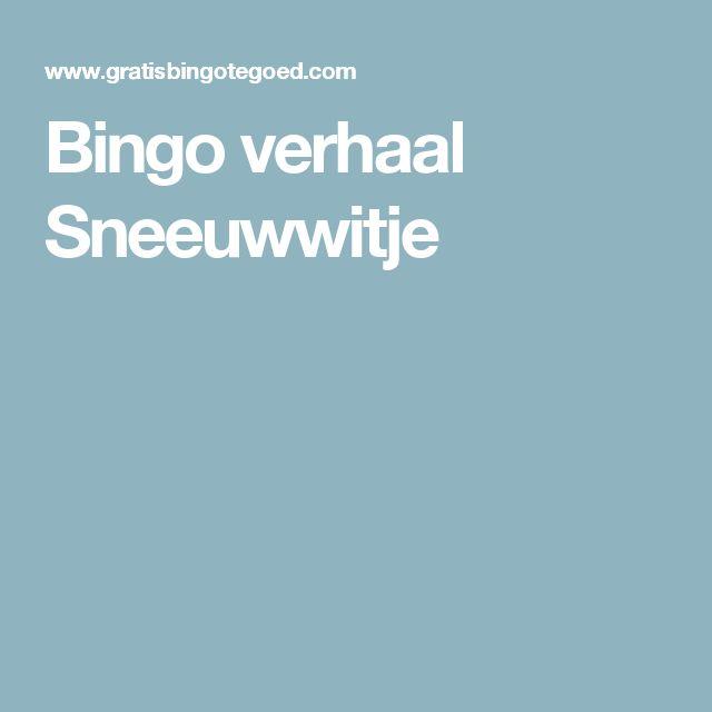 Bingo verhaal Sneeuwwitje