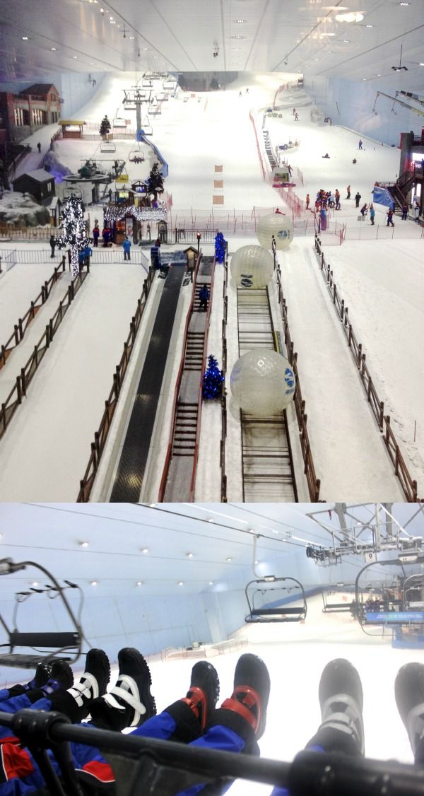 Ski Dubai - Fun for kids and non skiiers too