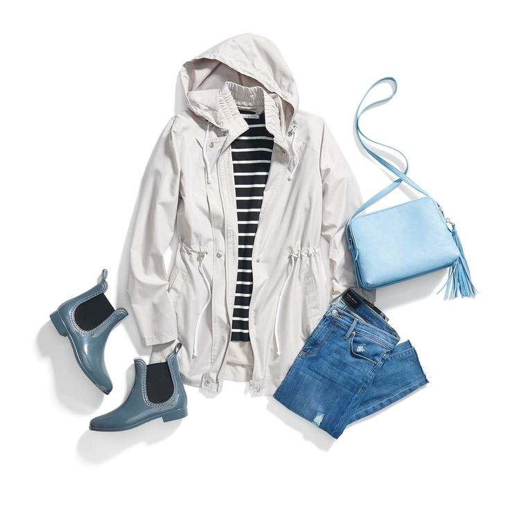 Rainy Day Outfit- I really like the galoshes. I have no rain shoes to wear, when it rains my feet are wet all day.