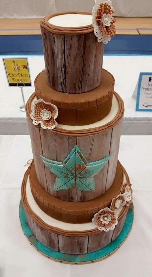 """Wood"" Cake"
