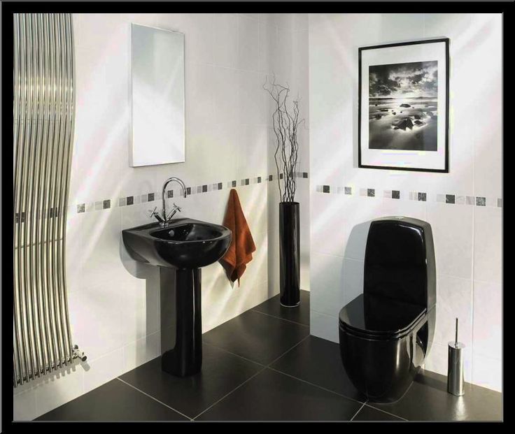 BLACK AND WHITE BATHROOM IDEAS PHOTOS   Http://www.smallbathrooms.club