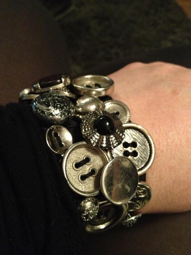 Armband van knopen