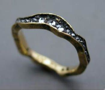 Wavy Eternity Band