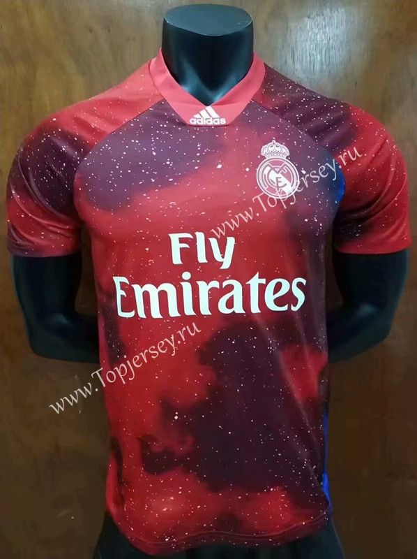 Limited Edition 2018 19 Real Madrid Red Thailand Soccer Jersey Aaa 407 Camisetas De Futebol Camisetas Esportes