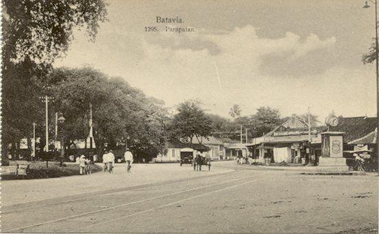 Parapattan in Batavia 1900-1920.