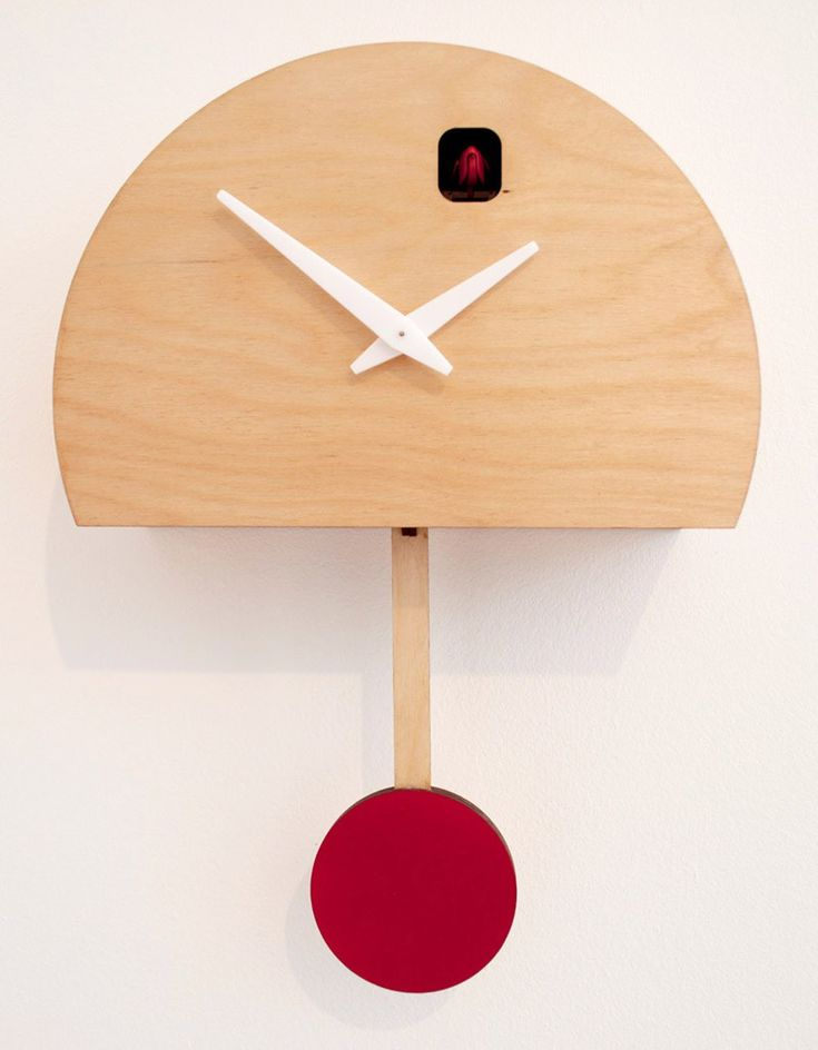 Pedro Mealha Modern Cuckoo Clock