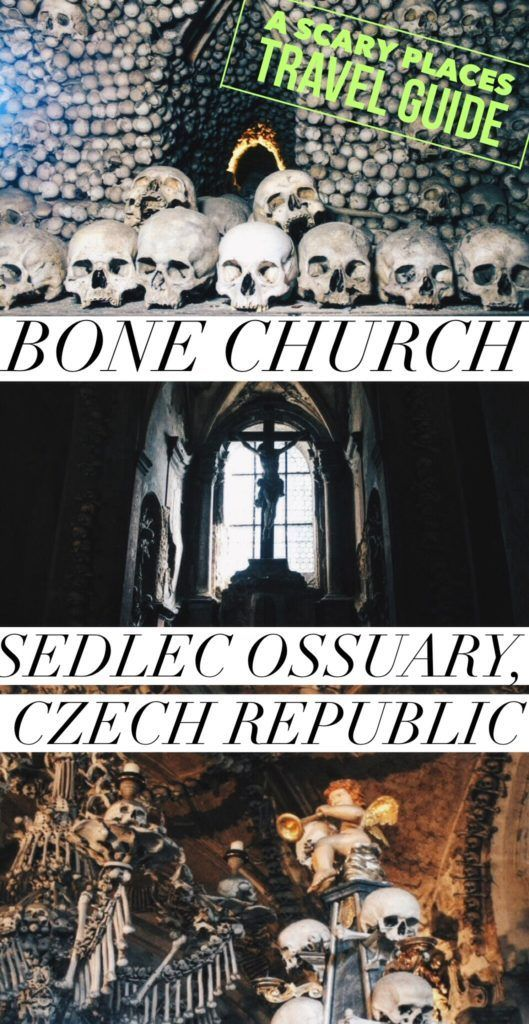 Visiting the devilishly macabre Bone Church of Sedlec Ossuary in Kutna Hora near Prague, Czech Republic (A Scary Places Travel Guide!)