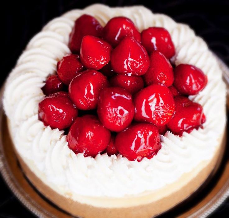 Looking to make friends? Bring cheesecake.  [Fresh Strawberry]  http://www.pinterest.com/AnnaCoupons/cheesecake-factory-coupons/