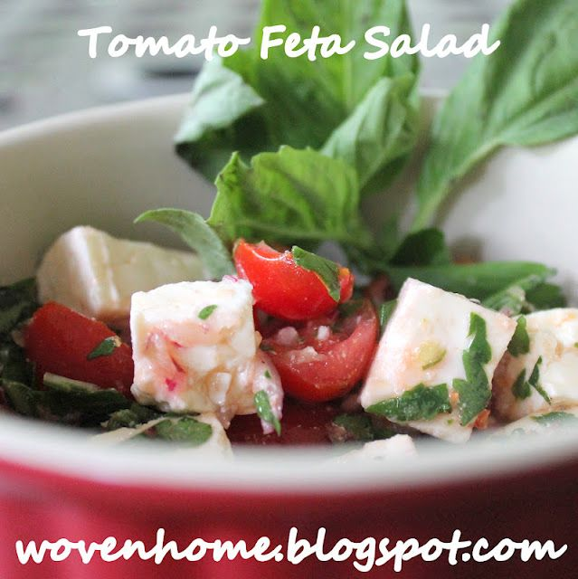 Tomato and Feta Cheese Salad SST #7