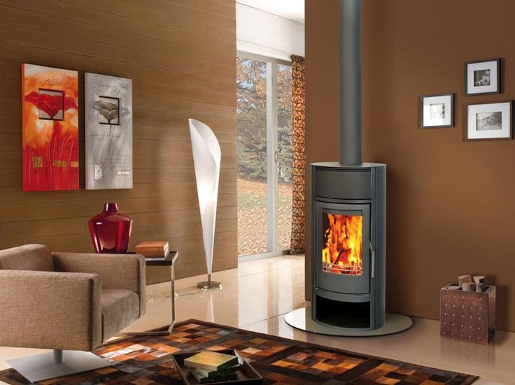 De nieuwe houtkachel op CV van Nordic Fire: de Thermo NF W20