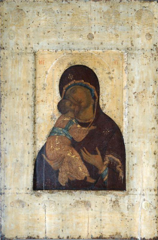 The Virgin of Vladimir, 1400  Andrei Rublev