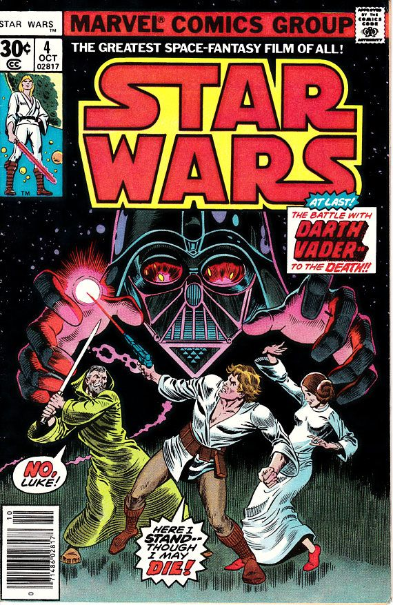 Star Wars  4 1st Series 1977 October 1977  Marvel  Comics