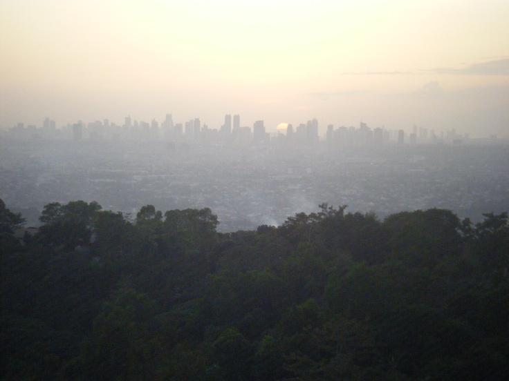 Antipolo, Philippines- Manila Skyline