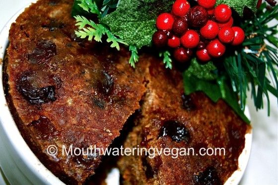 Boozy Vegan Xmas Pudding – a Mouthwatering Legend. Warning : May be Extra Delicious