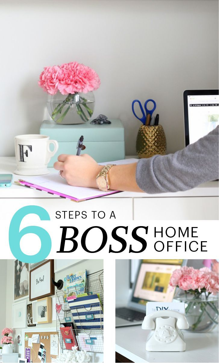 And black and white means your home office style is longer lasting - 6 Steps To A Boss Home Office Martha Stewart Living A New Year Often