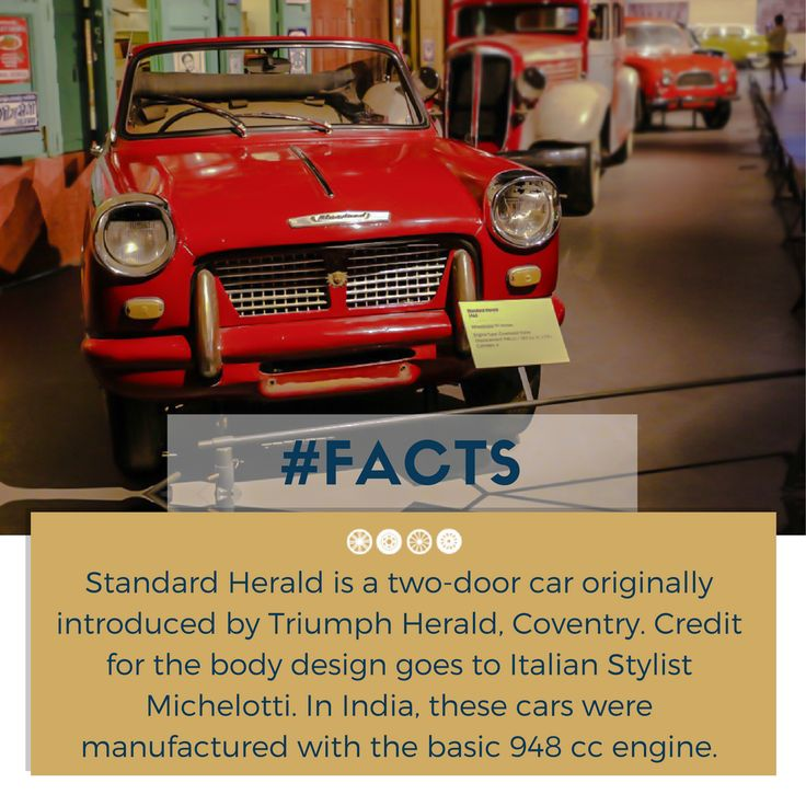 How about meeting me at the museum this weekend?  #factfriday #facts #herald #vintagecars #vintagecollection #heritagetransportmuseum #transportmuseum #incredibleindia