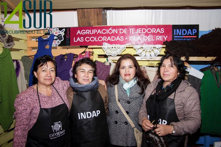 Ursula Lopez, María Elena Marileo, Silvia Meza y Teotista Lopez