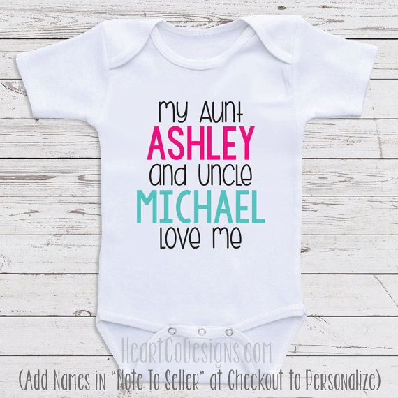 54 best new baby presents images on pinterest baby gifts new custom baby clothes my aunt and uncle love me personalized baby clothes for negle Gallery