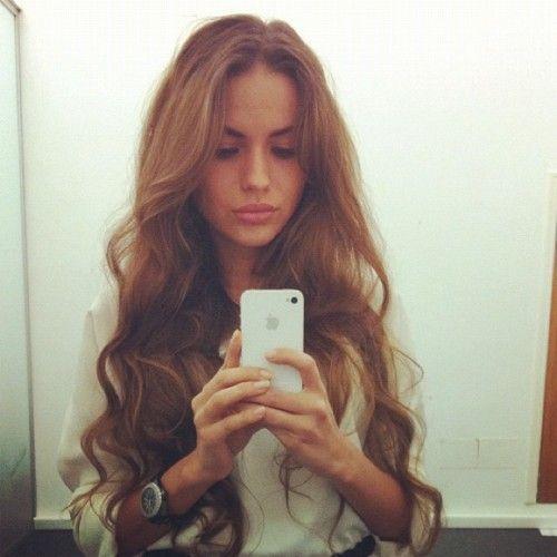 Pretty, Long hairHair Ideas, Hairstyles, Hair Colors, Makeup, Long Hair, Curls, Longhair, Beautiful Hair, Hair Style