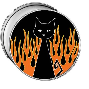 Black Cat | Black cat has been know at times to play with fire.