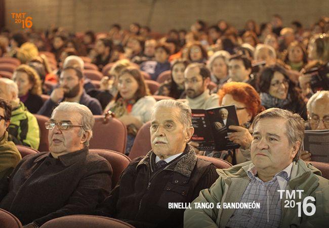 Espectadores, Teatro Municipal Temuco 2016, Binelli, Tango & Bandoneón