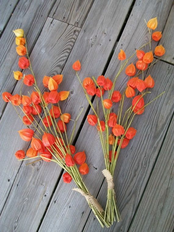 One Long Stem Bouquet Bunch of Beautiful by chicksandsticks