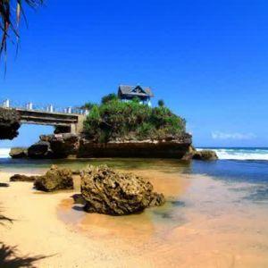 heaven view at kukup beach yogyakarta indonesia