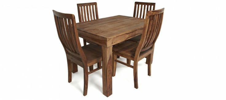 Agra 5pc Dining Set. #sabichi #dinning #table #furniture #wood #sabichistyle